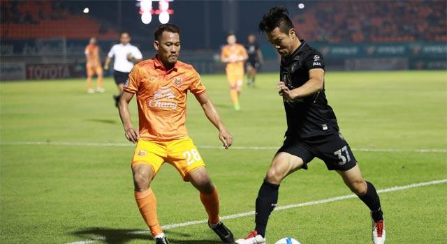 ไทยลีก ราชบุรี มิตรผล เอฟซี 1-1 สุโขทัย เอฟซี