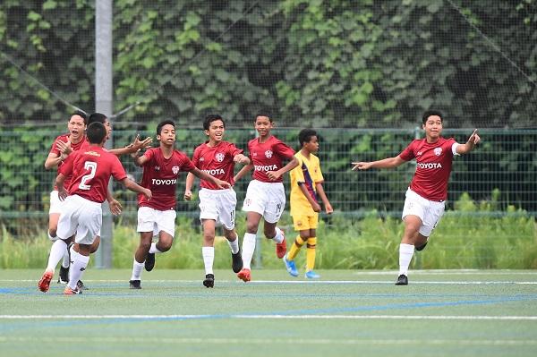 เด็กไทย ฟอร์มโหด โค่น บาร์ซ่า ลิ่ว 8 ทีม U-12 Junior soccer world challenge 2019