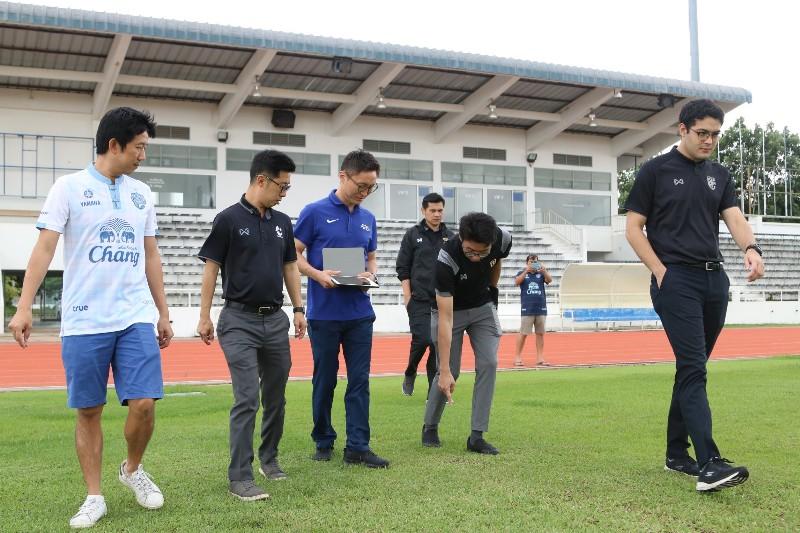 ลุยต้อ AFC ตรวจ สนามซ้อมบุรีรัมย์ ก่อนจัดชิงแชมป์เอเชีย U23